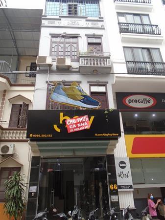Cho thuê nhà phố Nguyễn Văn Tuyết , 4 tầng, số nhà 66 gần