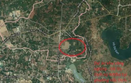 Chính chủ cần tiền bán rẻ đất trung tâm Thị xã Phú Mỹ, Tỉnh