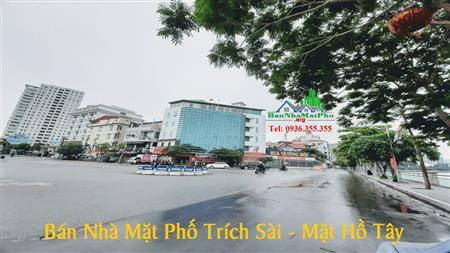 Bán Tòa Nhà Mặt Đường Trích Sài, Nguyễn Đình Thi, 65m2, 5