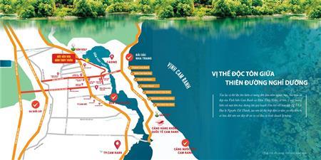 Duy nhất 4 xuất ngoại giao đất nền Đầm Thủy Triều, Cam Lâm