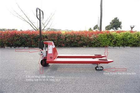 Xe nâng tay 3 tấn Sagolifter
