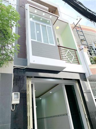 Nhà mới (3.2*13.5m/NH/lầu) hẻm 100 Bùi Minh Trực P5 Q8
