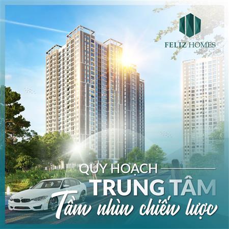 Mở bán căn hộ cao cấp Feliz Homes của vietinbank tại Hoàng