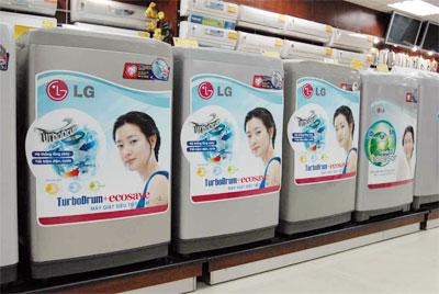 Trung tâm bảo hành sửa chữa máy giặt LG tại hà nội