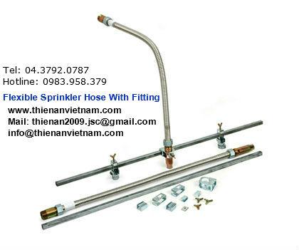 Ống mềm nối đầu sprinkler SJV-FLEX, SEUNG JIN 200psi,1.4mpa