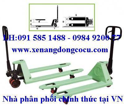 XE NÂNG TAY OPK( NHẬT),xe nâng tay 1 tới 5 tấn, xe nâng, xe