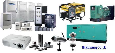 Máy phát điện, UPS ( Bộ lưu điện), Chống sét Loza, ATS, Dây