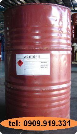 dung môi acetone,  xăng aceton, hóa chất tẩy rửa công nghiệp