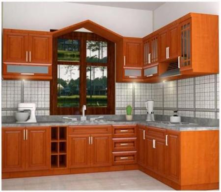 Nhận đóng tủ bếp tại tphcm 2017