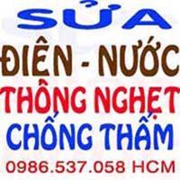 thợ sửa ống nước rò rỉ tân nơi HCM 0986537058